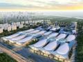 青岛500亿元世界级博览城奠基 效果图壮观