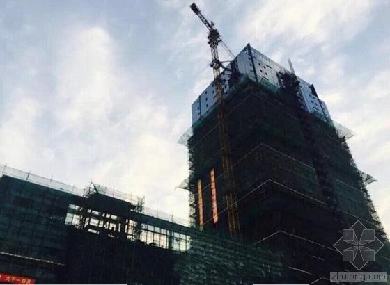 福州首座园林式酒店外立面曝光 再添一地标建筑