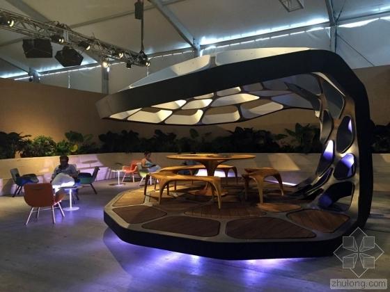 扎哈·哈迪德(Zaha Hadid)装配式饭厅设计