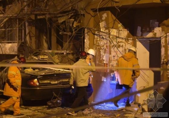 北京石景山居民楼爆炸 路边都有明显震感
