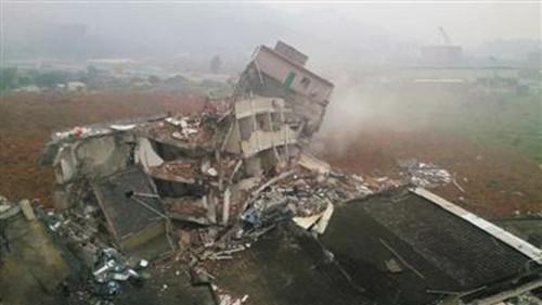深圳工业园滑坡垮塌体为人工堆土 非山体