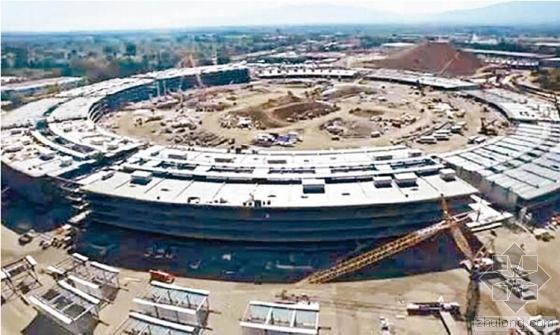 苹果飞船总部也是山寨货?被指抄袭国产建筑