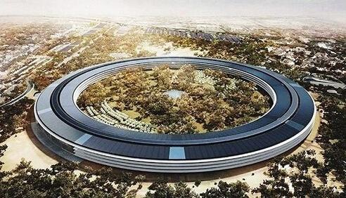 网民热议苹果总部竟然抄袭中国建筑