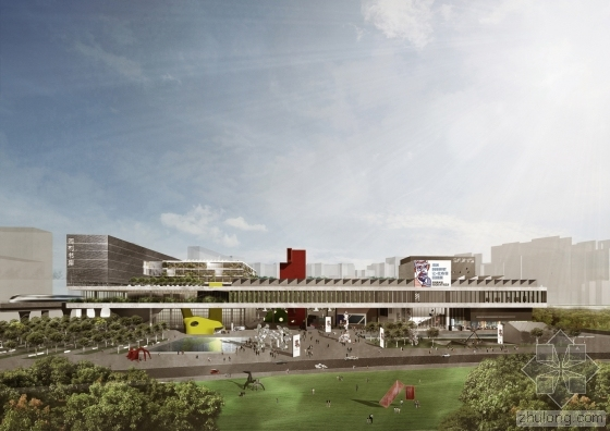 OPEN Architecture设计的深圳美术馆及图书馆龙华区新馆方案已入围