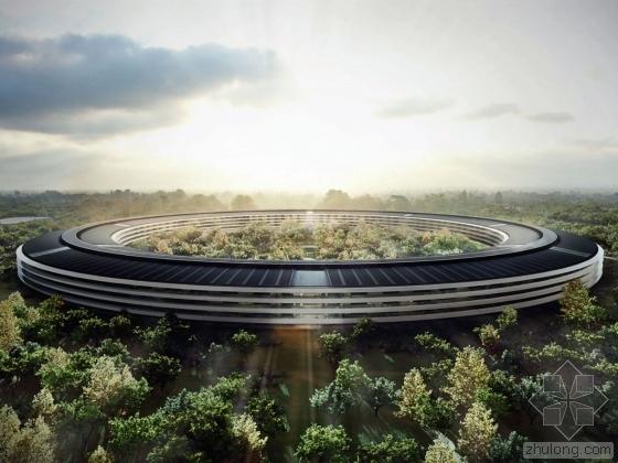 苹果新总部大楼工程耗资巨大 访客中心造价8千万美元