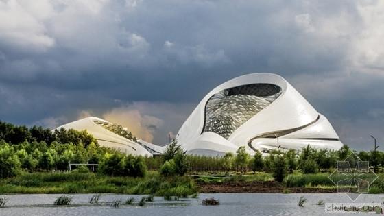 """""""迷人的曲线"""" 哈尔滨大剧院被评为年度最佳 工程投资1.5亿元"""