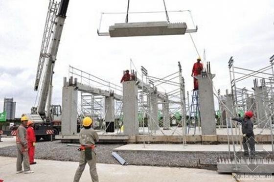 """安徽首个""""装配式建筑""""封顶 装配式工程建设加速"""