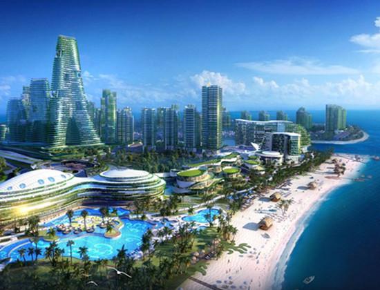 中国开发商欲海外填海造城 斥资400亿美元