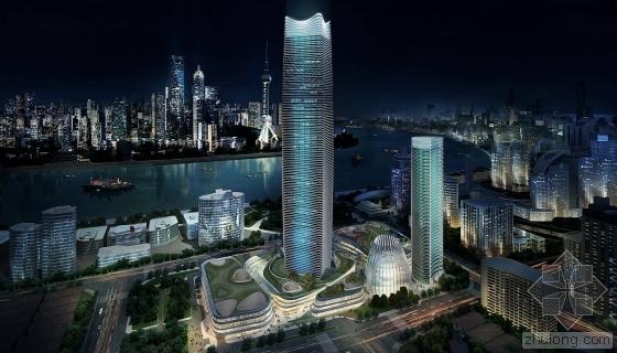 SOM设计第一高楼白玉兰广场 预计年底亮相!