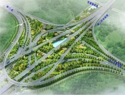 """石家庄东南二环将建""""巨无霸""""立交桥 全长8.68公里"""