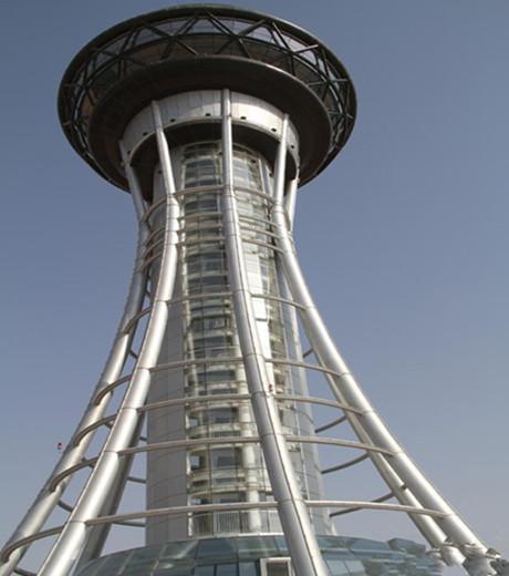 全国最高的沙漠旅游观光塔建成 一塔可观三省三景