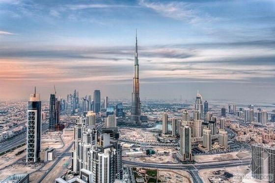 迪拜的哈利法塔