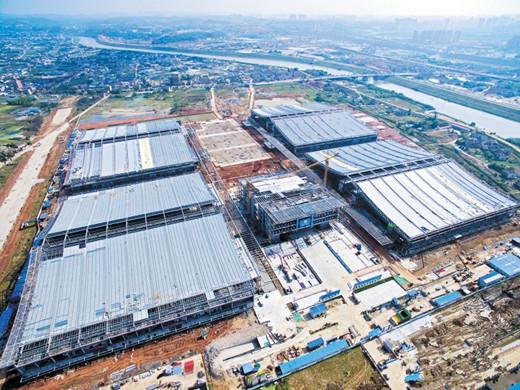 湖南57.8亿最大会展中心年内建成 打造一流综合性展馆