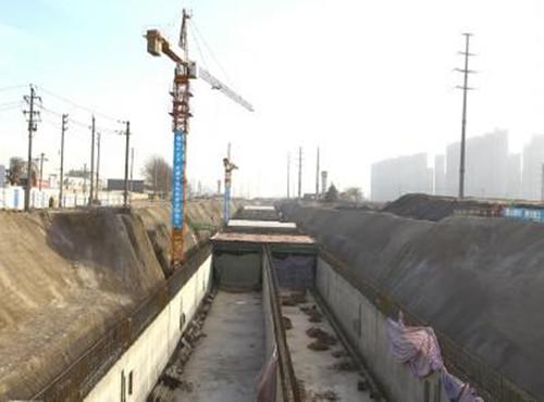 郑州地下管廊建设每公里造价1个亿 与市民息息相关