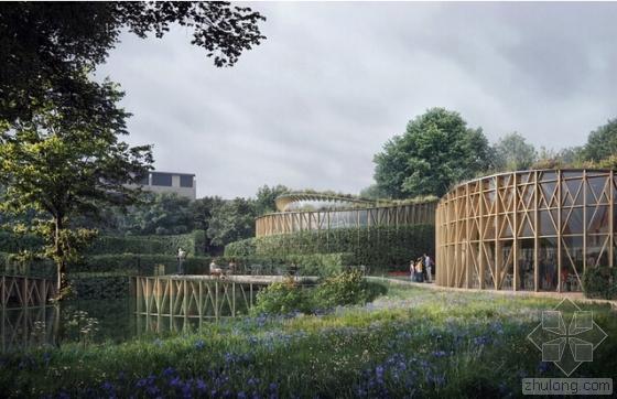 隈研吾建筑都市设计事务所公布欧登塞安徒生博物馆的最新设计方案