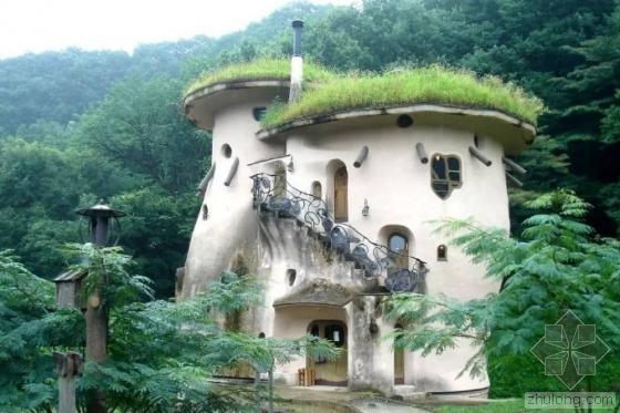 屋顶变花园 这么美的房子不是应该在童话里吗