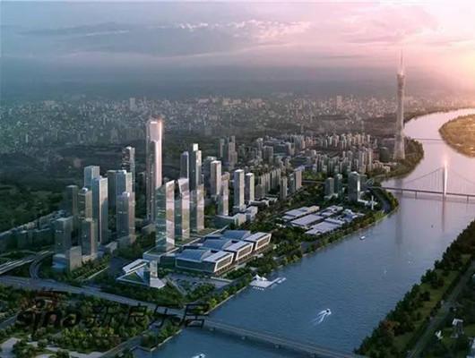 建筑新开工资料下载-广州琶洲新地标动工 高360米投资50亿