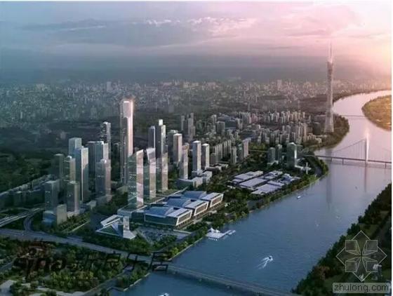 广州琶洲新地标动工 高360米投资50亿