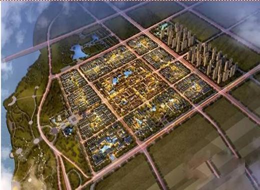 山东临沂重建沂州古城规划图