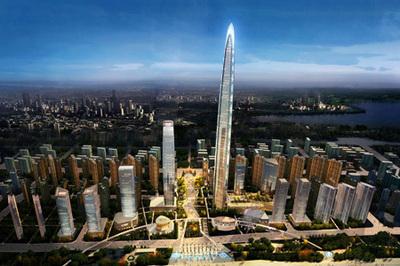 武汉绿地中心BIM技术获行业专家点赞