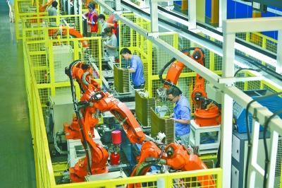 全球最智能空调外机生产线武汉投产 机器人替代率60%