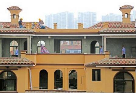 """四川""""牛""""气顶楼现浇两层小洋房涉违建 被拆除"""