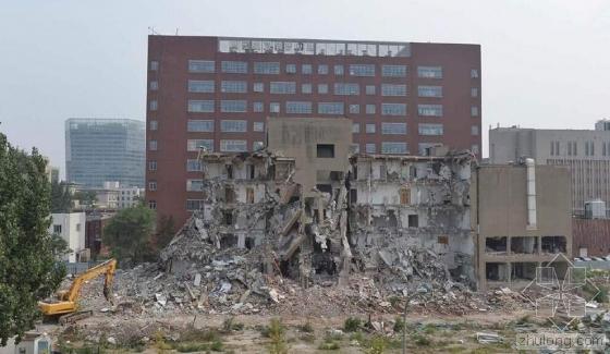 """""""共和国科学第一楼""""被拆"""