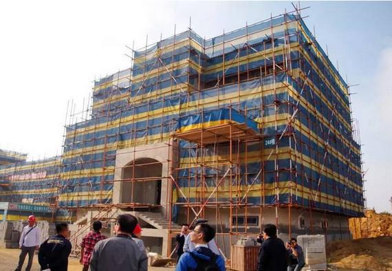 大连首座被动式住宅主体封顶 系首个德国标准全系认证