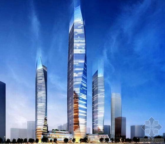 369米高海天中心将成青岛第一高楼