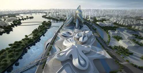 BIM在长沙梅溪湖国际文化艺术中心的应用