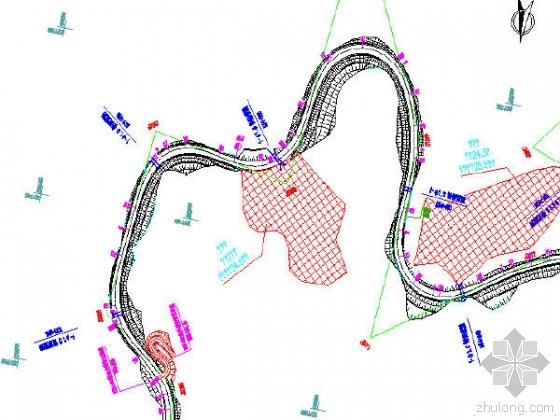 广西省凤山58km四级公路两阶段施工图设计496张CAD(路桥涵隧)