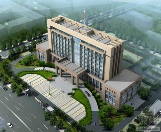[湖南]2016年技术综合用房建筑工程预算书(含施工图纸)