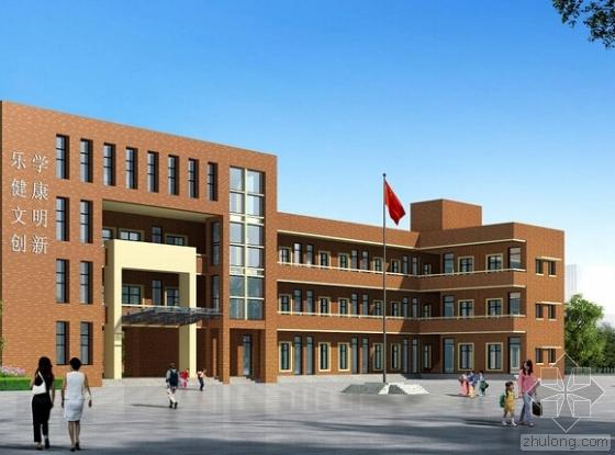 [湖南]新建4层框架结构教学楼建筑安装工程量清单(含施工图纸)