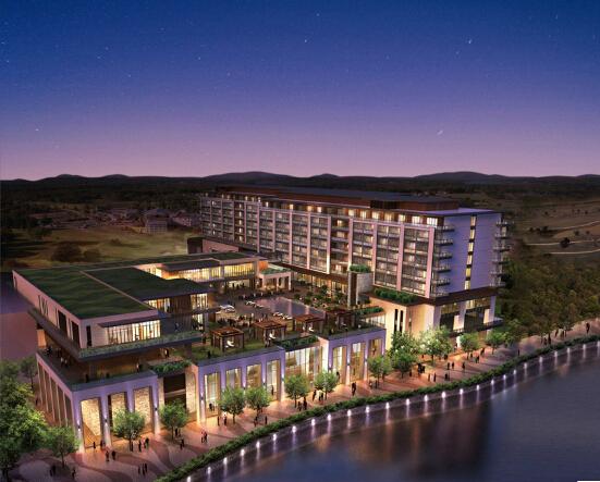 [辽宁]大型5星级温泉酒店项目建安工程结算书(广联达算量,图纸,签证,变更)