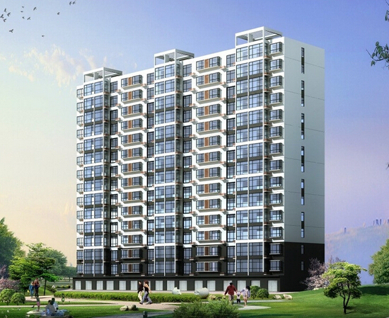 [湖南]7万平米高层住宅区项目建安工程预算书(CAD图纸470张)