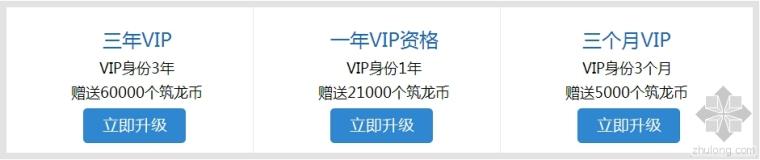 筑龙VIP会员震撼升级  七万筑龙币+两张资料光盘!