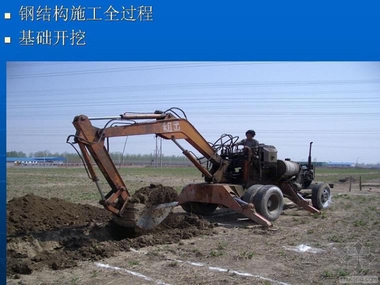 钢结构施工全过程 现场实录
