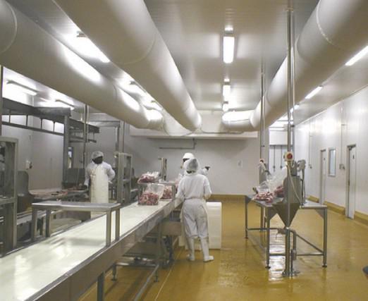 布袋风管应用食品加工行业