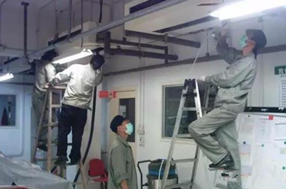 VRV中央空调系统施工资料资料下载-中央空调管道的清洗很重要!