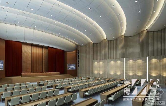 大型会议室运用隔声墙板 打造最佳会议空间