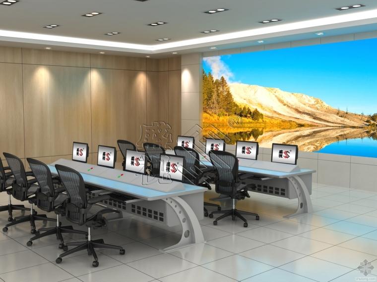指挥中心机房所用操作台监控台调度台如何布局配色方案