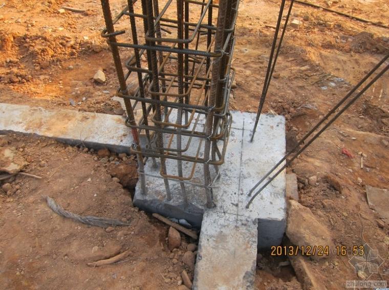 框架柱、剪力墙纵向钢筋偏位原因及处理方法