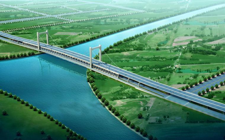 桥梁效果图制作用什么软件及桥梁效果图范例