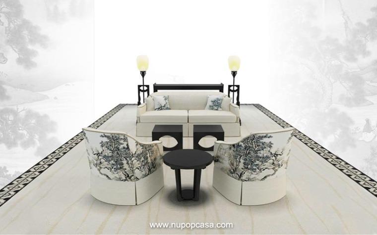 创新概念设计型家具PDF图册-新中式/现代中式印画家具