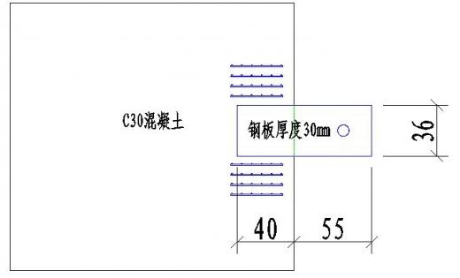 预埋钢板的抗拔力如何计算