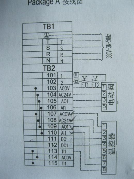 关于开利DBFP变风量空气处理器控制的一点疑问!