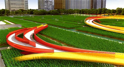 艺术之田:芝加哥北格兰特公园设计方案