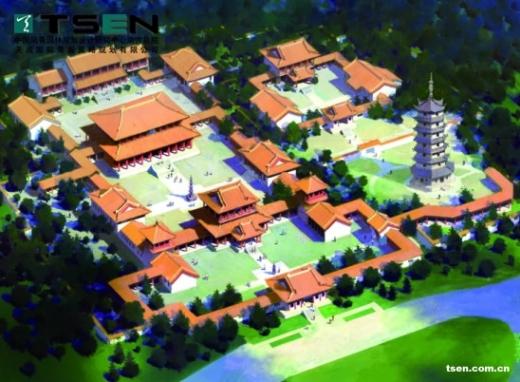 寺庙园林规划中的佛家思想