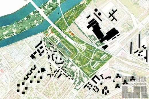 """""""轴线""""的嬗变 法国现代园林景观对古典主义园林的传承与"""