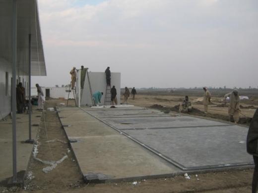 巴基斯坦纳拉渠项目活动房施工现场照片(7.5更新)
